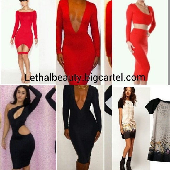 dress two piece two piece set bodycon cutout dress cutout long sleeve dress animal print midi skirt red dress deep v neck dress deep vneck vneck dress red vneck dress little black dress leopard print celebrity dresses celebrity style midi dress skirt set, two piece set
