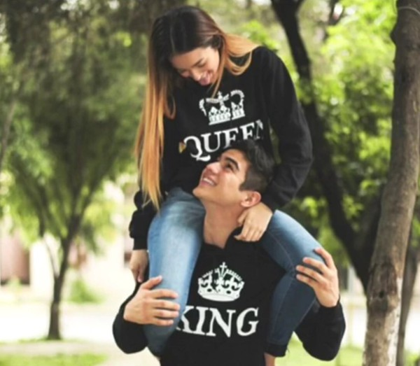 sweater queen and king black sweate couple sweaters. Black Bedroom Furniture Sets. Home Design Ideas