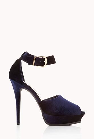 Velveteen Doll Platform Sandals | FOREVER21 - 2000072180