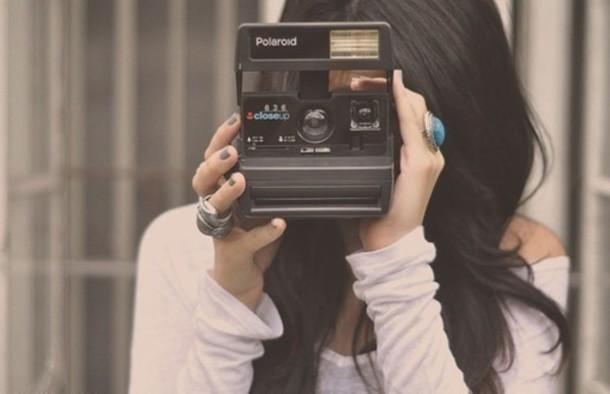 vintage camera technology photography polaroid camera