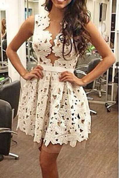 dress short dress puffy dress floral dress