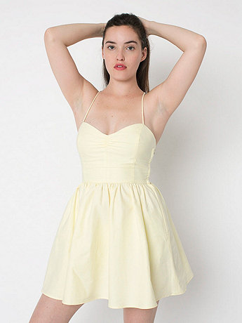 Tie Back Dress | American Apparel