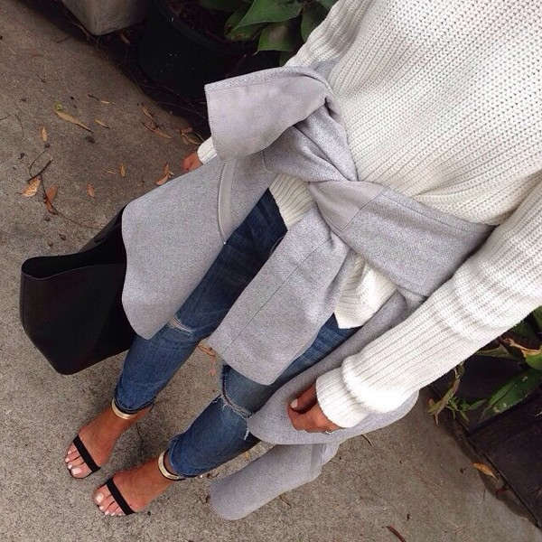 pants jeans shoes sweater coat gold black