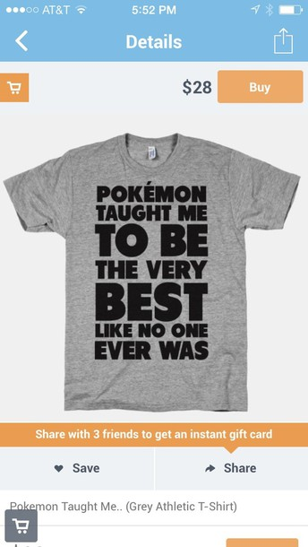 shirt pokemon be the very best like no one ever was