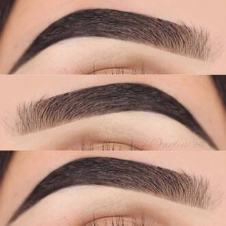 make-up brows
