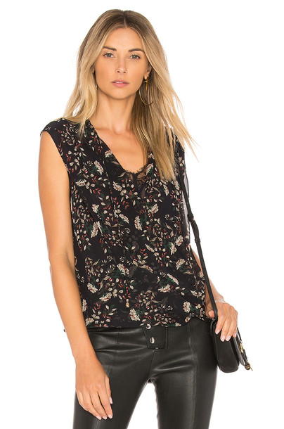 Heartloom black top