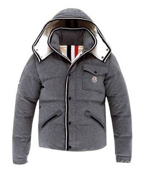 Moncler Branson Men Jacket Gray Navy Bj130555