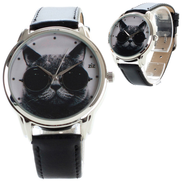 jewels black cat cats sunglasses black sunglasses watch watch ziz watch ziziztime round sunglasses