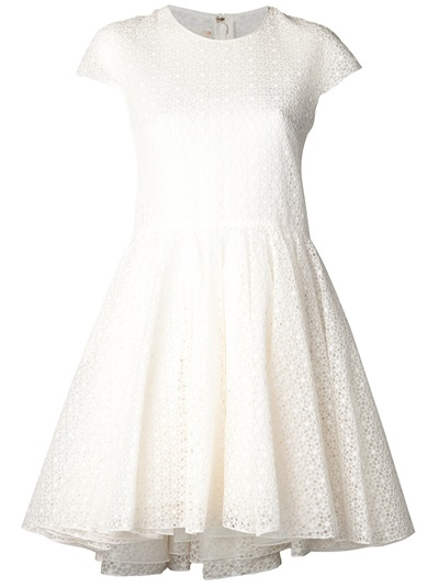 Giambattista Valli Flower Lace Dress - Fivestory - Farfetch.com