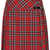 Red Pleated Tartan Kilt - Full & Skater Skirts - Skirts  - Clothing - Topshop