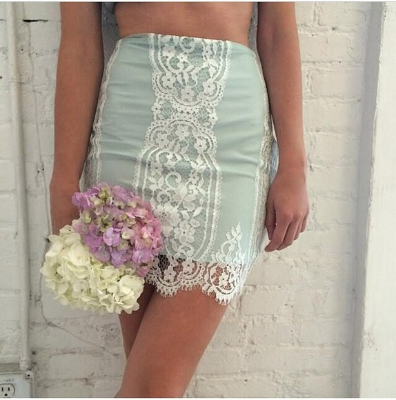 mint skirt mint skirt floral print skirt floral jeans