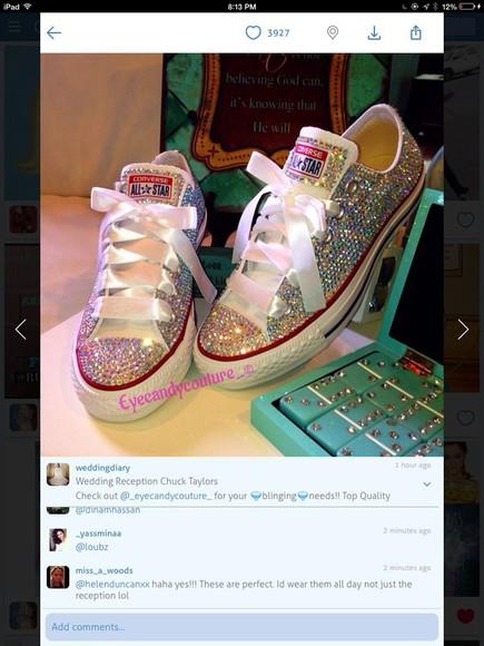 shoes sparkle converse