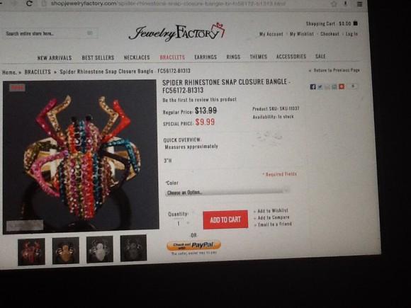 jewels rhinestone spider bracelets jewelry, bracelet, ring, girly colorful Rhinestonejewelry rinestones halloween costume halloween accessory halloween bangles bangle bangles