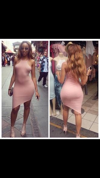 dress nude dress