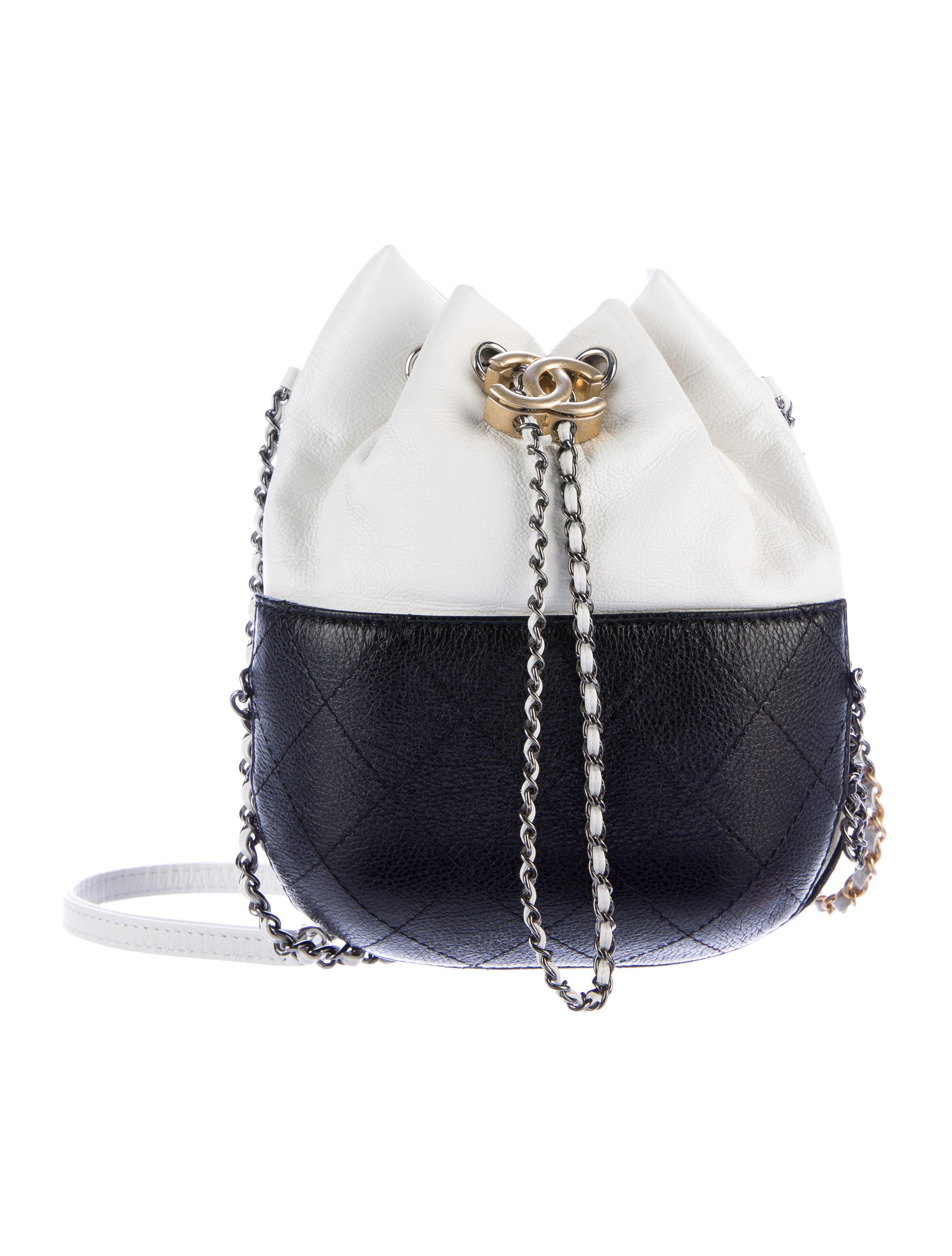 Summer 2017 Calfskin Gabrielle Bucket Bag