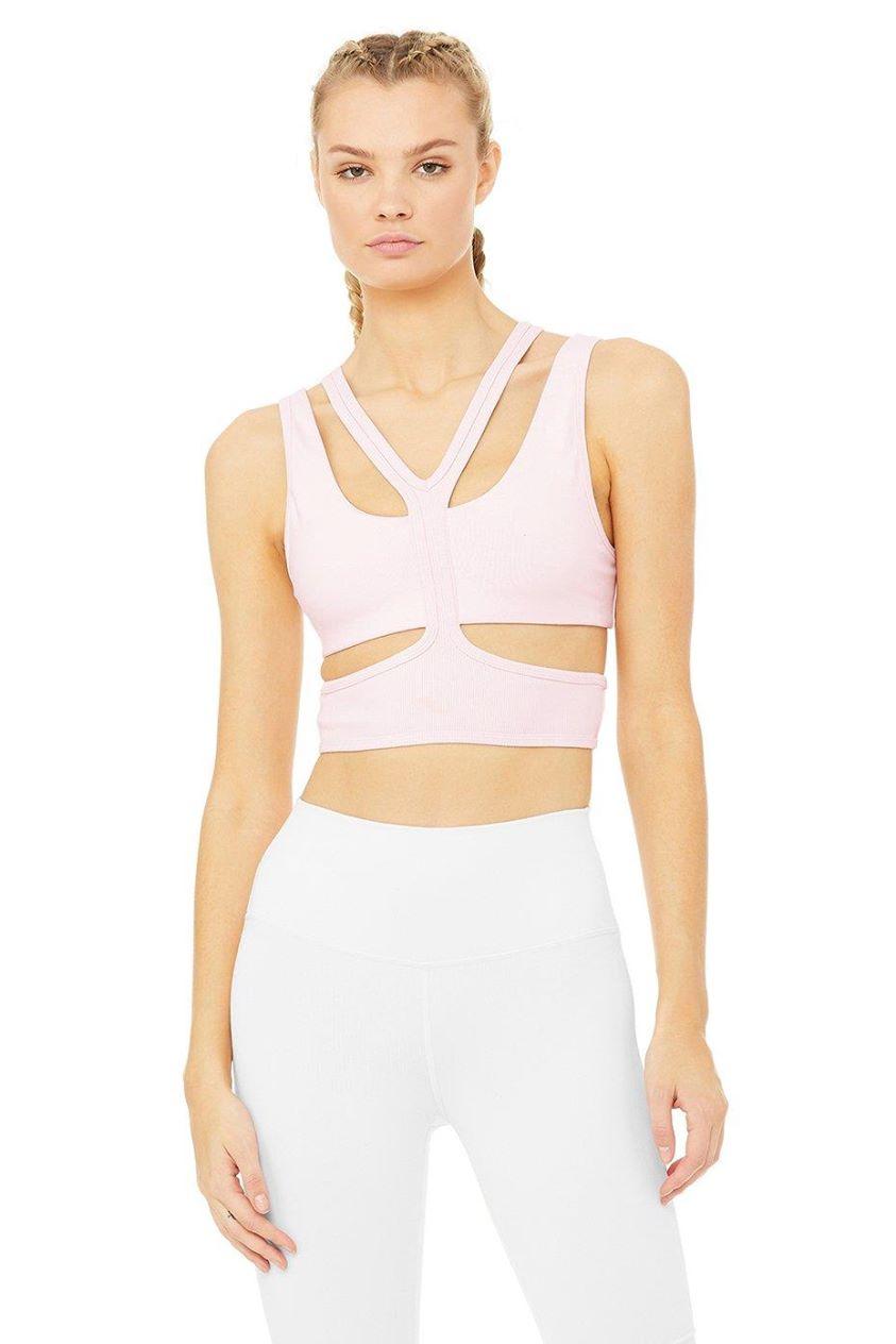Trackie Bra - Soft Pink