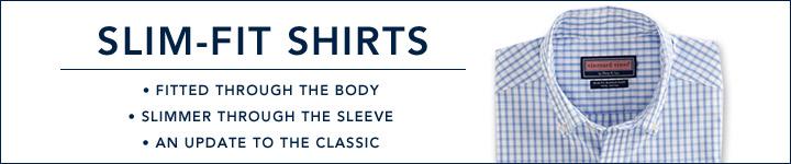 Slim Fit Shirts: Shop Vineyard Vines for Slim Fit Sport Shirts for Men