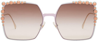 sunglasses gold pink pink and gold