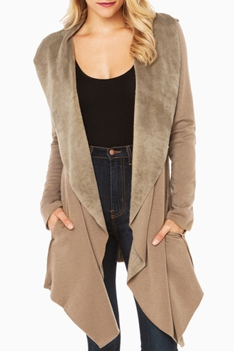 coat cardigan winter outfits winter sweater winter coat fall outfits fall cardigan faux fur zaful