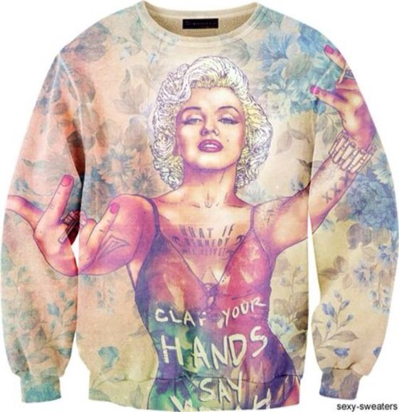 marilyn monroe sweater
