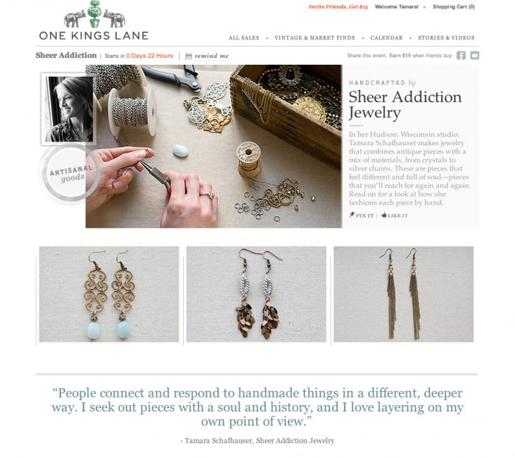 Sheer Addiction Jewelry - Welcome