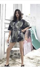 blouse,girly,girl,girly wishlist,tie dye,tie dye shirt,tumblr
