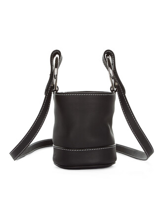 bag bucket bag black