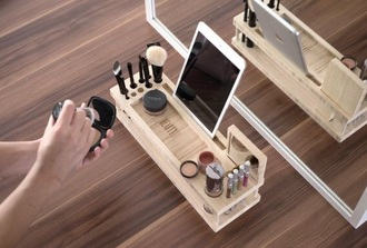 home accessory ulimate makup set makeup table make-up