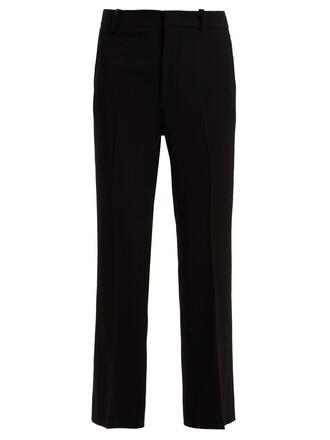 flare black pants