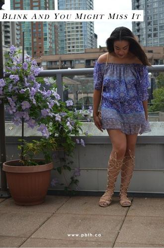 pbth blogger dress bag shoes