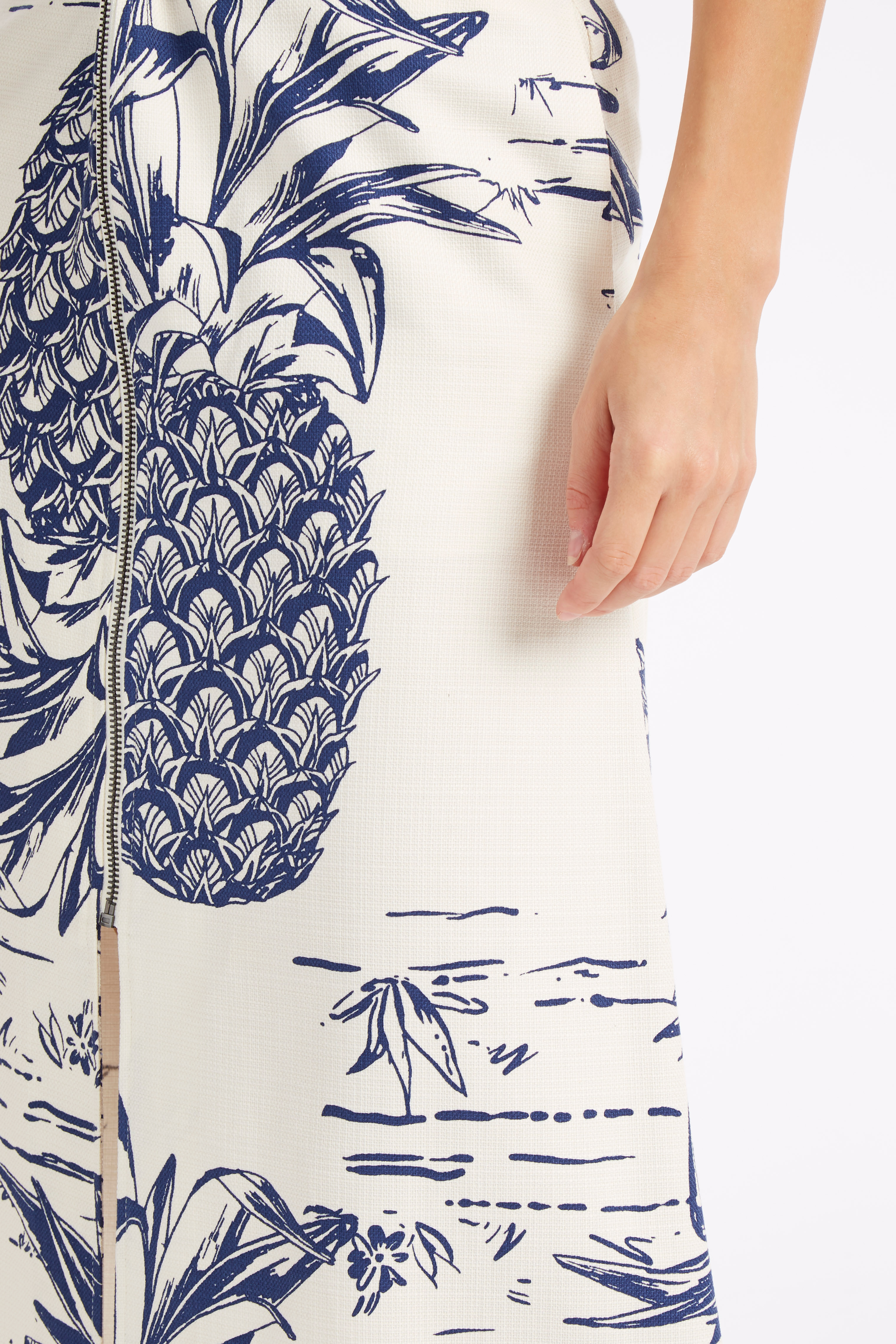 Boutique 1 - SEA NY - Ivory Pineapple Skirt | Boutique1.com