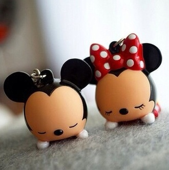 keychain minnie mouse