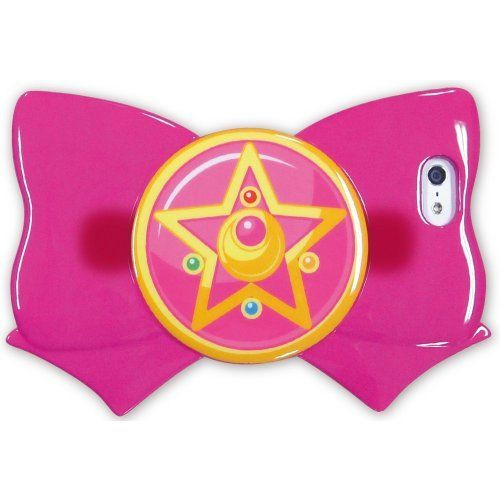 Sailor Moon Ribbon Shaped Case for iPhone 5s/5 SLM-11B From Japan