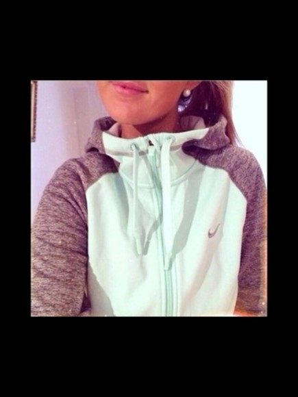 gris nike jacket nike, free run, trainers, running, sport, athletic, white, grey, shoes,