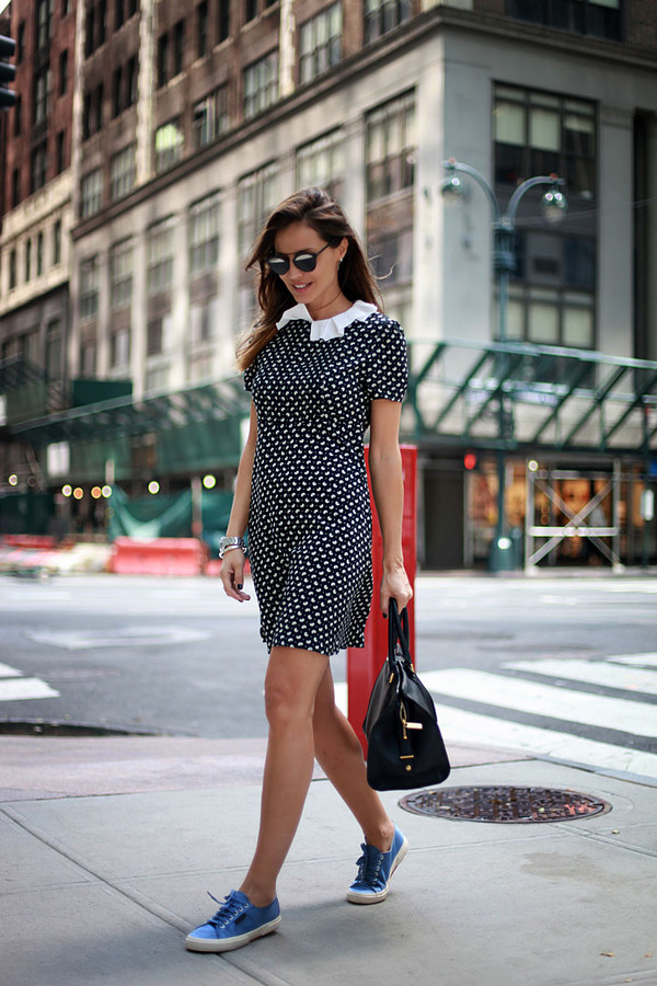 lady addict blogger sunglasses bag dress shoes