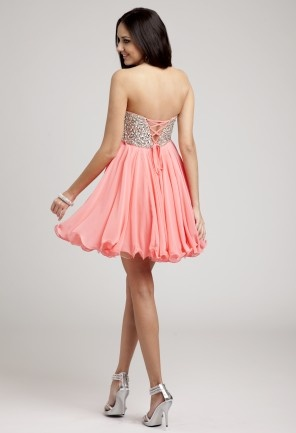 Keep it Short \'n Sweet / Prom Dresses 2013 - Short Strapless Jeweled ...