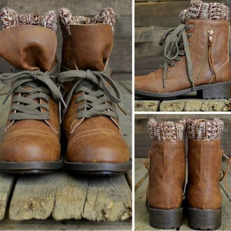 bottines boots cuir