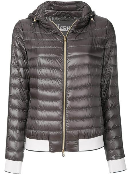 Herno jacket women grey