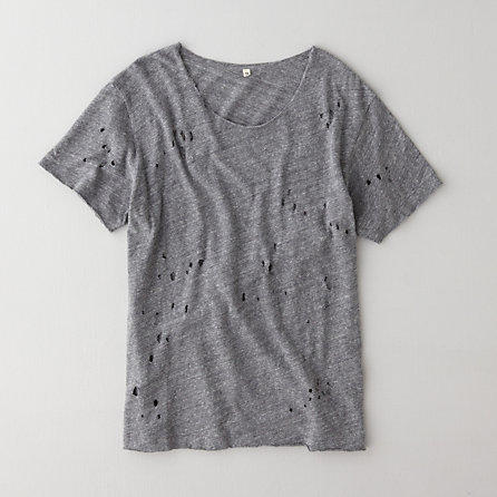 R13 Distressed Rosie Tee |Women's Tees | Steven Alan