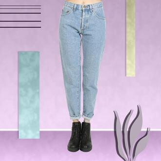 jeans mom jeans denim high waisted jeans 90s style