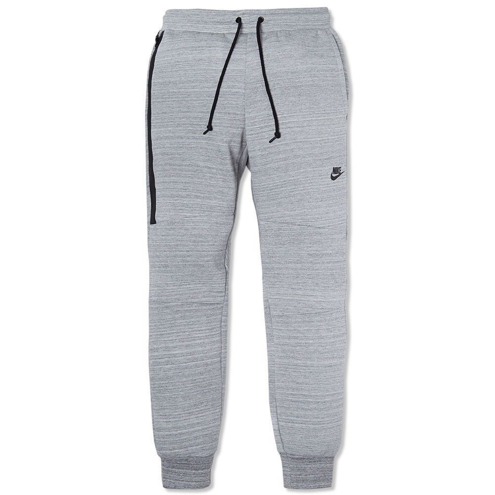 Nike Tech Fleece Pant Heather Grey Sweats Sweatpants Jogger 585204 063 | eBay