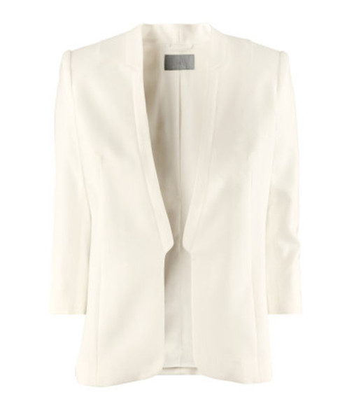 jacket white blazer h&m out of stock