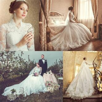 dress a line wedding dresses high neck wedding dresses long sleevs wedding dresses plus size wedding dresses arabic wedding dresses muslim wedding dresses 2016 wedding dresses long train wedding dresses 2016 bridal gowns italy wedding dresses brazil wedding gowns