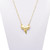 Gold Sharktooth Necklace | VidaKush