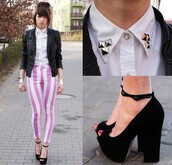pink,shoes,pants