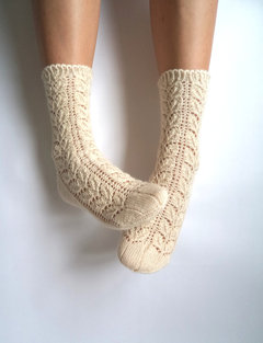 KNIT SOCKS  on The Hunt