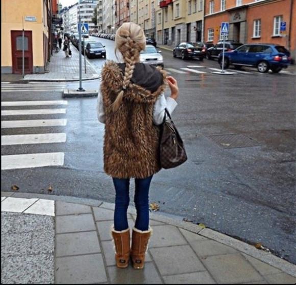 jacket fourrure manteau