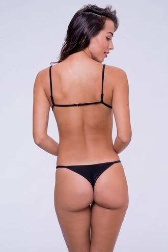 swimwear black bikini bottoms brazilian bikini dbrie swim reversible skimpy bikiniluxe