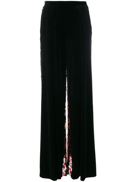 Talbot Runhof women black pants