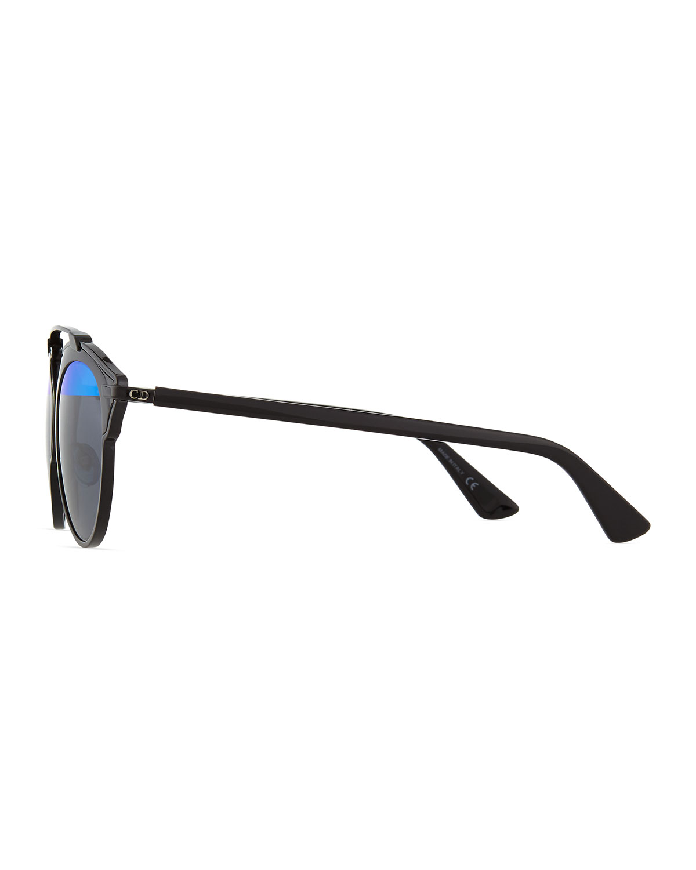 Dior So Real Brow Bar Sunglasses, Black
